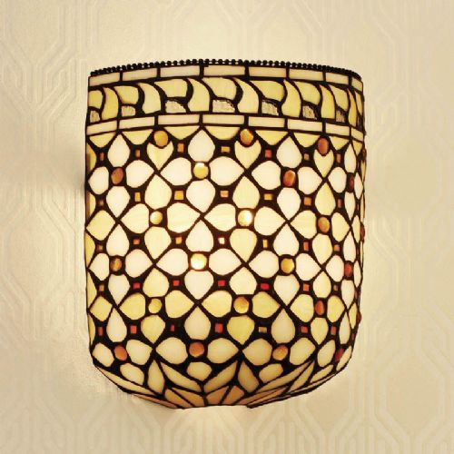 Mille Feux Wall Light (Traditional, Wall Lamp) TO21W (Tiffany style)